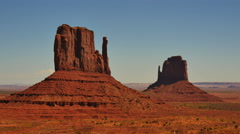 4K Monument Valley Day 28 USA Stock Footage