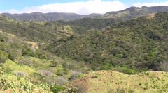 Mountain Monteverde Winter Scenery Habitat Conservation Stock Footage