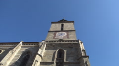 Black Church. High medieval construction. Historical monument. Stock Footage