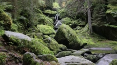 Triberg waterfalls Stock Footage
