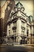 USA, New York State, New York City, Building on Madison Avenue Stock Photos