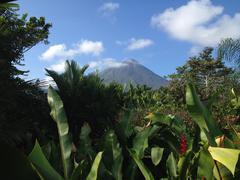 Costa Rica, La Fortuna, Arenal volcano Stock Photos