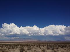 USA, California, Inyo County, Timbisha, Death Valley, Desert landscape and - stock photo