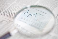 Financial Market Analysis Stock Photos