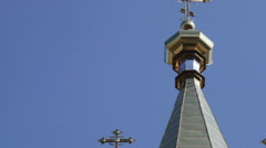 Church dome Stock Footage