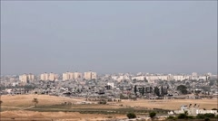 Remains of Gaza (Zoom out) Stock Footage