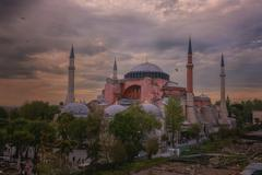 Stock Photo of Turkey, Istanbul, Hagia Sophia