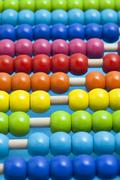 Close up of abacus Stock Photos