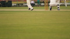 Game of Cricket Extra Space for Text - stock footage