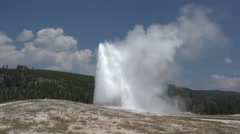 Other Yellowstone National Park Summer Old Faithful Geyser - stock footage