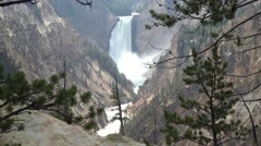 River & Stream Yellowstone National Park Summer Waterfall Falls Grand Canyon Stock Footage