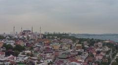 Hagia Sophia (Aya Sofya) Stock Footage
