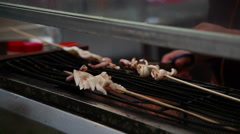 Chinese fastfood 3745 Stock Footage