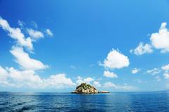 Thailand, Kho taow sea view (island) Stock Photos