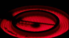 Red Electric Burner  disabling Stock Footage