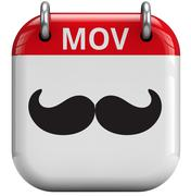 movember moustache month - stock illustration