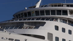 Cruiseship vessel Europa pilot house Stock Footage