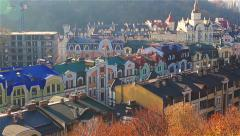 Kiev Buildings Stock Footage