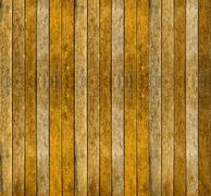 Yellow wood texture for background Stock Photos
