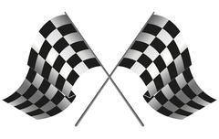 Checkered flag racing Piirros