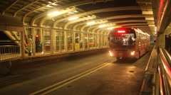 Lahore Metro Bus - stock footage