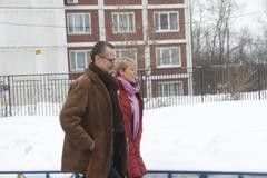 Stock Photo of policies evgeniya chirikova and her lawyer is to observe elections