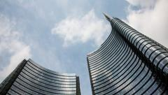 Milano skyscraper Stock Footage
