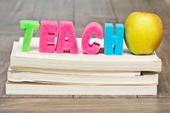 teach concept - stock photo