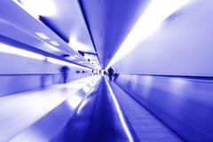 Airport transfer - stock photo