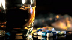 Pills and alcohol - Substance Abuse Arkistovideo