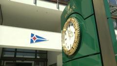 Main entrance of Yacht Club Costa Smeralda  Stock Footage