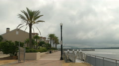 Waterfront condos Jax 4k Stock Footage