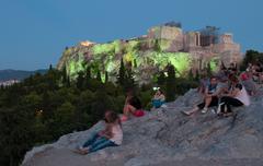 Acropolis, parthenon athens Stock Photos