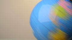 rotating globe - stock footage
