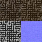 Stock Illustration of pavement seamless generated texture (with diffuse, bump and normal map)