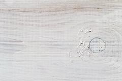 Old plank impregnated with white paint Stock Photos