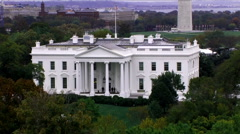 dc white house 03 - stock footage