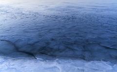 Weak ice Stock Photos