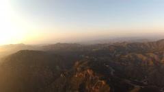 Aerial Malibu Coast Stock Footage