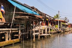 Ratchaburi houses Stock Photos