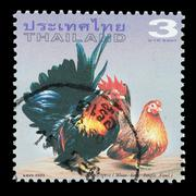 Thailand stamp Stock Photos