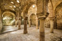 moorish baths - stock photo