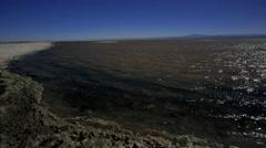 Chaxa Lagoon Atacama Desert Stock Footage