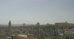 Jerusalem - Skyline - 24P - Cinematic DCI 4K - Flat Stock Footage