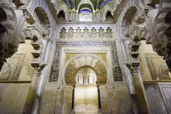 mosque-cathedral of cordoba, spain - stock photo