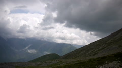 Clouds and storm is coming to georgia Stock Footage