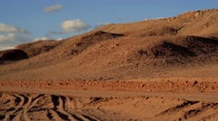 Atacama Desert Panoramic / Chile - stock footage