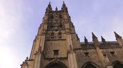 The cathedral of Canterbury Stock Footage