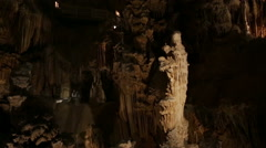 Grotto in languedoc roussillon Stock Footage