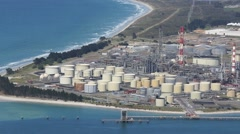Marsden Point Oil Refinery Stock Footage